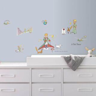 Photo ambiance chambre enfant stickers Le Petit Prince