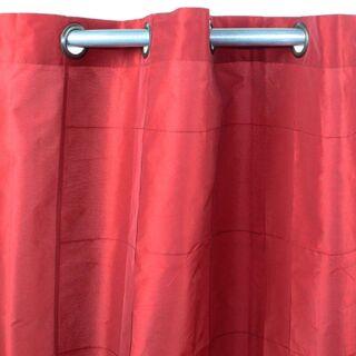 WILLIAM rideau Taffetas (150x250cm) rouge