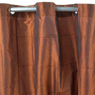WILLIAM rideau Taffetas (150x250cm) rouille