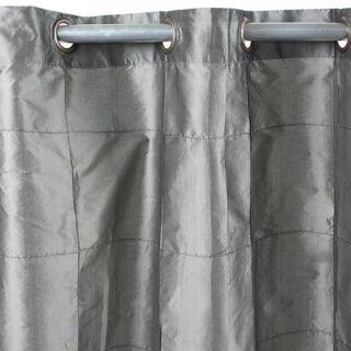 WILLIAM rideau Taffetas (150x250cm) gris