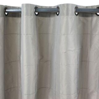 WILLIAM rideau Taffetas polyester (150x250cm) taupe