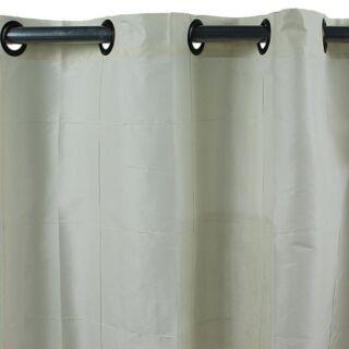 WILLIAM rideau Taffetas polyester (150x250cm) écru