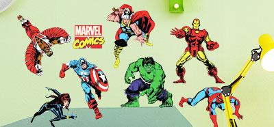 stickers marvel