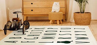 Tapis alphabet pour enfant