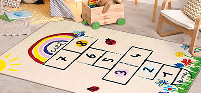 tapis ludiques pour enfant